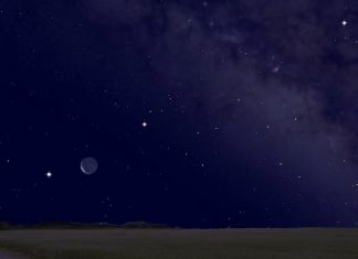 It's a World Celebration! See Venus, Saturn and Jupiter with the Moon This Weekend