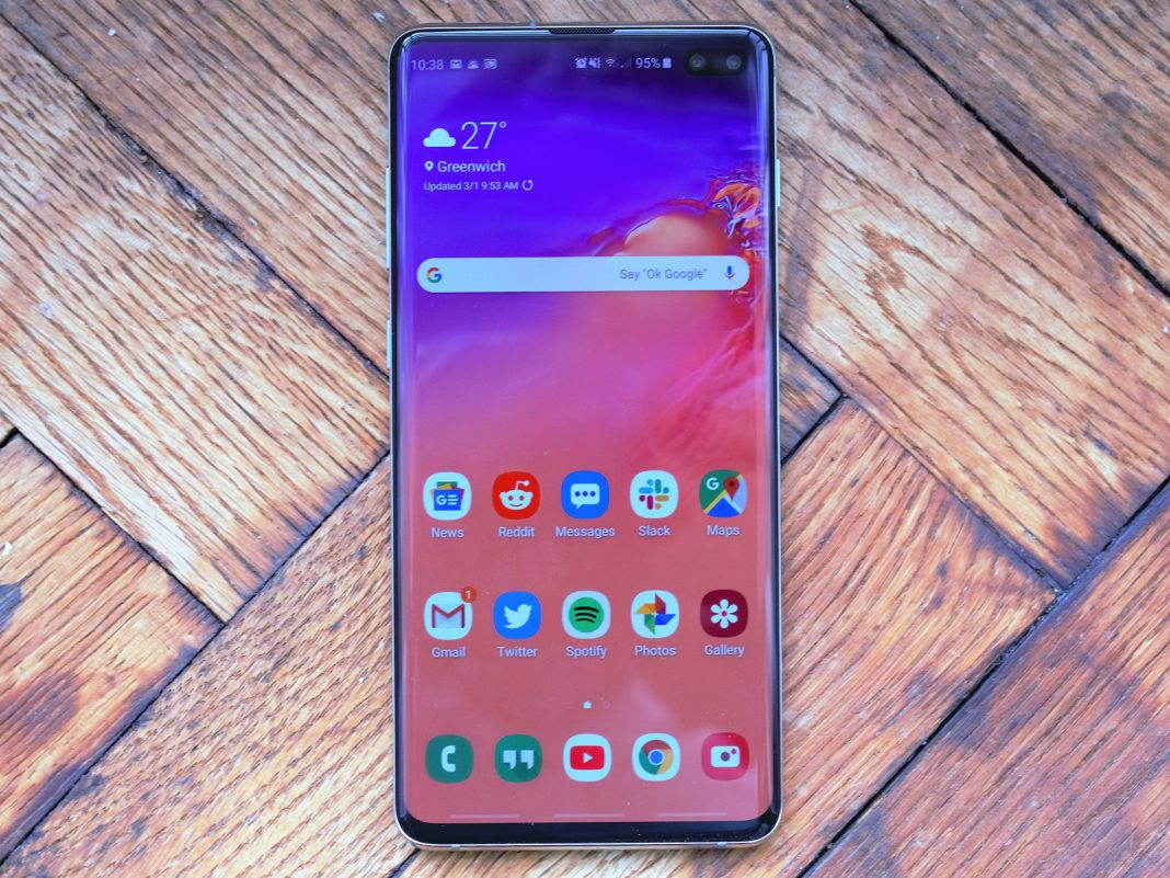 Samsung looks like it's attempting to camouflage the hole-punch display screen on the Galaxy S10, however it truly does not need to