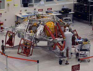 Glimpse inside the NASA Mars 2020 rover tidy space