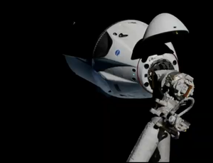 SpaceX Crew Dragon achieves landmark docking with area station