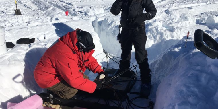 The dangers of updating a particle detector buried in Antarctic ice