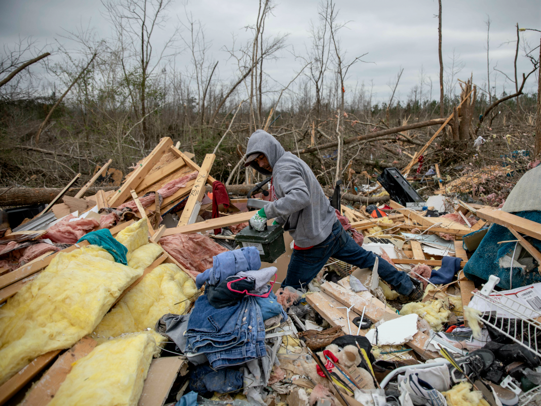 A twister break out that eliminated 23 individuals verifies researchers' worries: Twisters in the Southeastern United States are worsening
