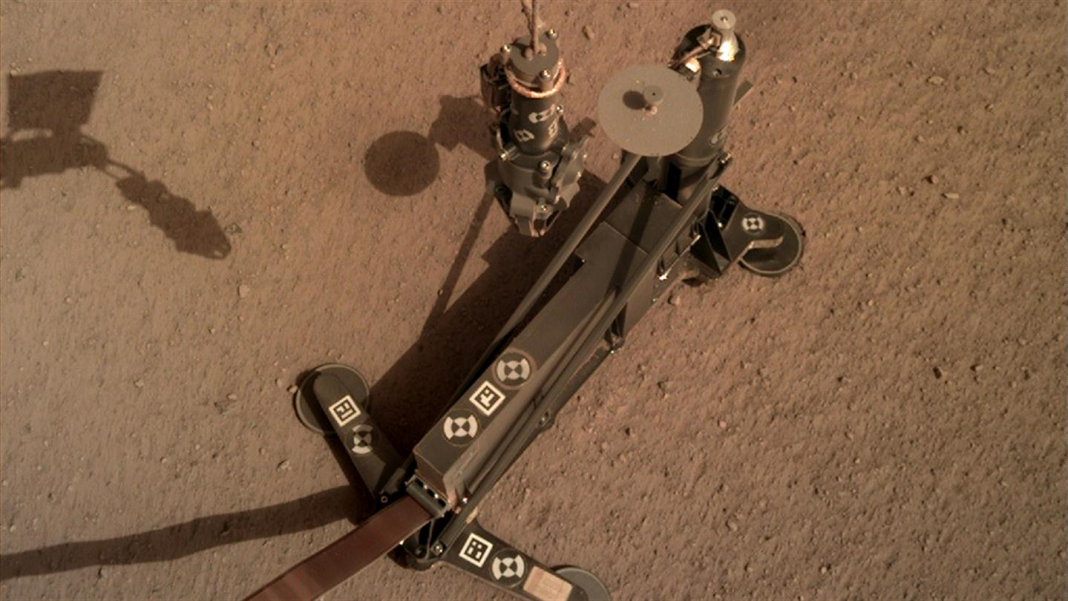 InSight's Rock-hammer has to do with Half a Meter Down and has Currently Encounter Rocks.