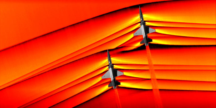 NASA imagines supersonic shockwaves in a brand-new, breathtaking method