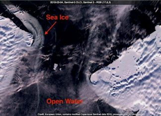 Where Is The Ice That Should Remain In The Bering Strait Today?