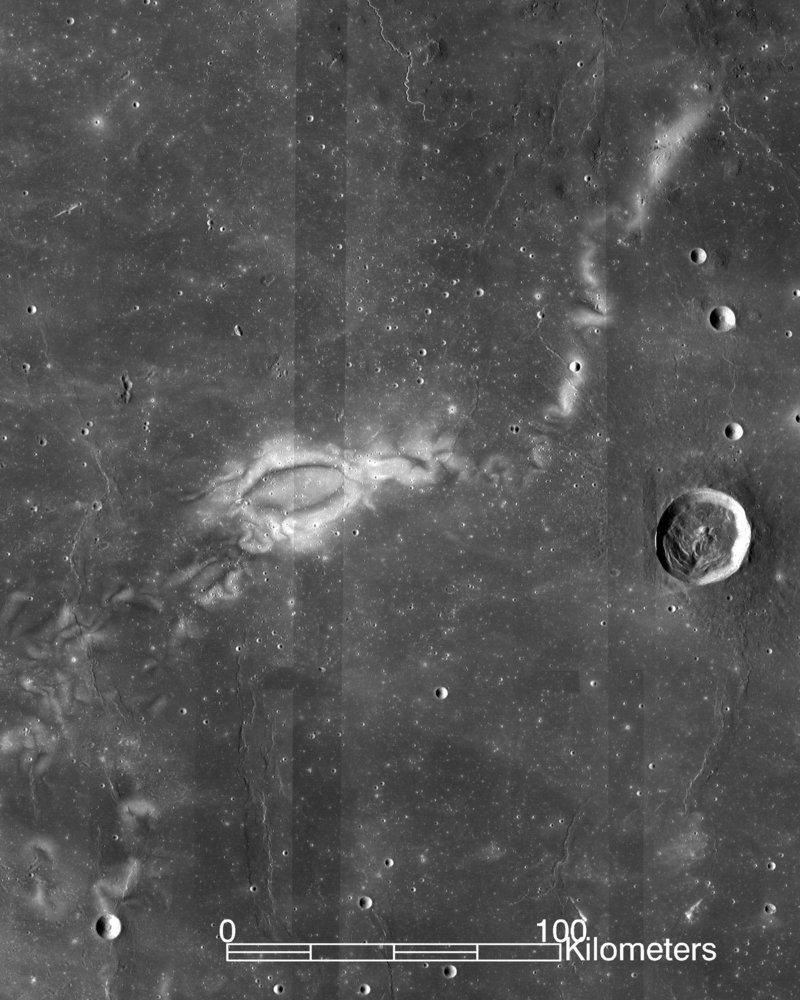 Solar Wind Leaves 'Sunburn' Scars on Lunar Surface Area, NASA Missions Exposes