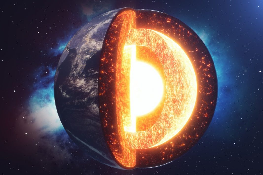 Lots Of Pressurized Oxygen Might Be Hiding in Earth's Molten Iron Core
