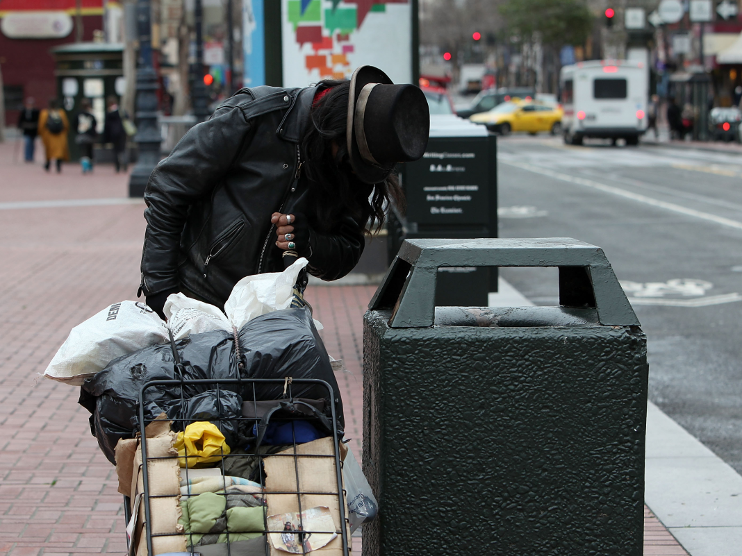 San Francisco streets are so unclean, the city is investing almost $300,000 on trash can that send out a caution when they're overruning