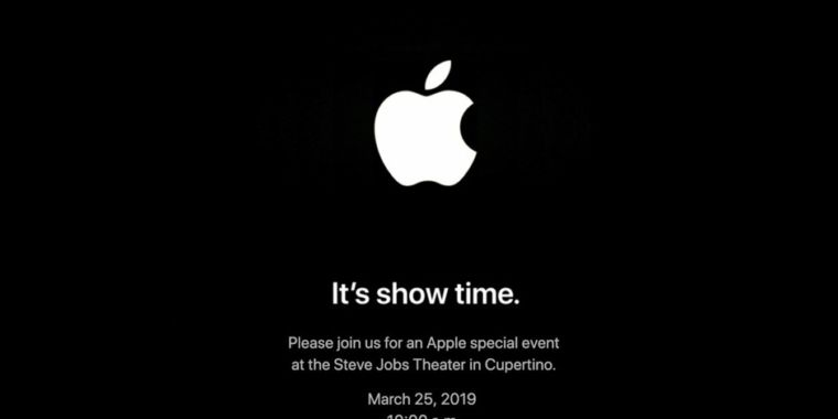 """It's program time:"" Apple validates March 25 occasion at the Steve Jobs Theater"