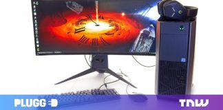 Alienware's 34- inch curved video gaming display restored my child-like marvel
