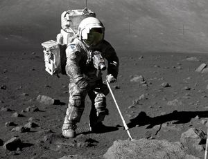 NASA busts out unblemished moon rocks for research study