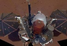 NASA InSight lander captures a shadowy eclipse on Mars