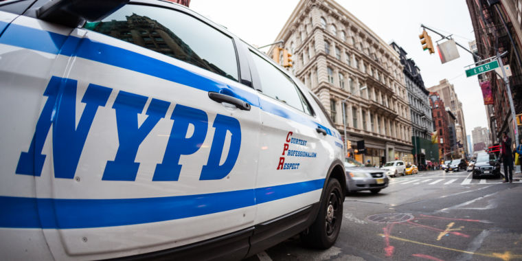 Report: NYPD body web cam exposes officer carrying out foreplay on her employer