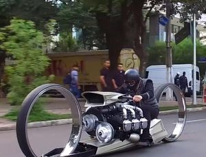 This bike has the craziest style we have actually ever seen video