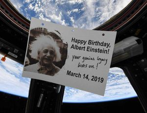Albert Einstein gets a Pi Day birthday shout-out from area