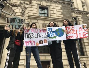 Environment strike: Trainees the world over take to streets requiring action