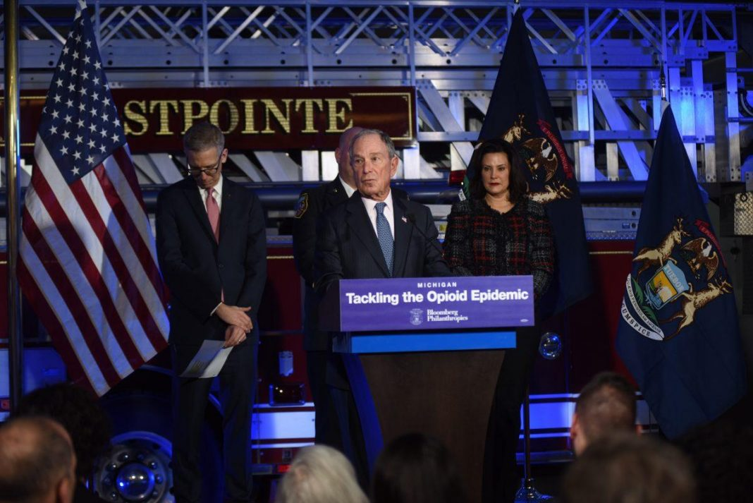 Mike Bloomberg: Here Is The Next State In The Opioid Crisis Effort