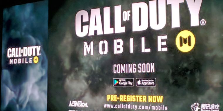 Call of Task Mobile revealed for iOS, Android, made by China's Tencent