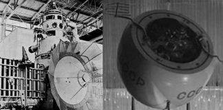 Area Stopped Working Soviet Venus Probe Kosmos 482 in Earth Orbit