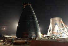 SpaceX Checks the Starship's Hexagonal Heatshield. Starhopper Tests Might Come as Early as Today