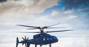 This radical Sikorsky-Boeing helicopter simply made its first flight