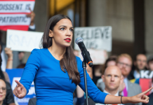 'We are dealing with a nationwide crisis': Alexandria Ocasio-Cortez passionately safeguards her Green New Offer resolution as Republicans bring it approximately stop working in the Senate
