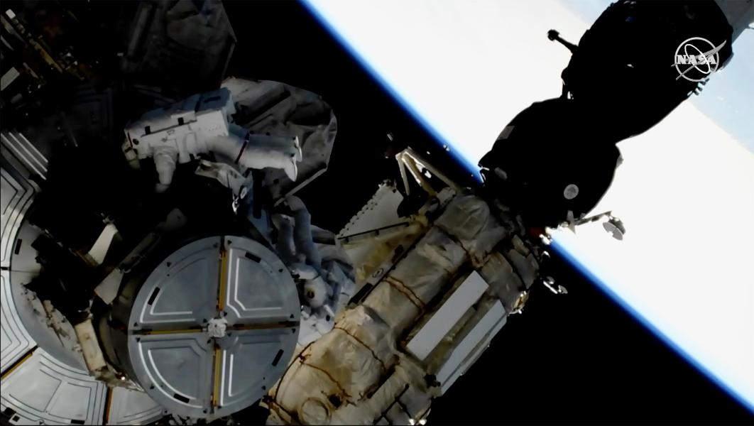 Just how much Of A Hazard Is Area Particles To The ISS?