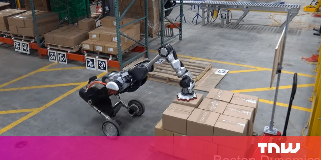 See this rewarding video of Boston Characteristics' brand-new robotic completely stacking boxes