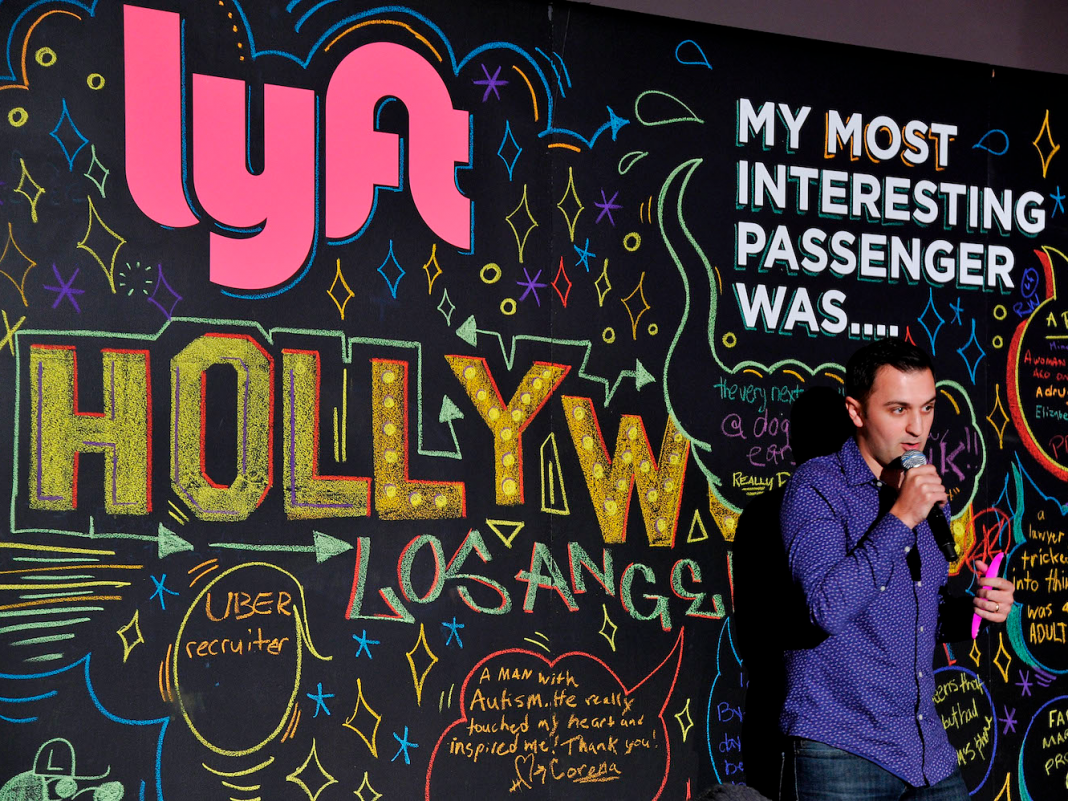 Lyft's creators offered a strange, whimsical description for what the 'Y' in its name represents