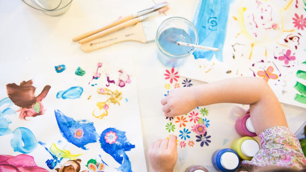 Usage Your Kid's Art work as Greeting Cards