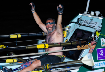 A retired Royal Marine and amputee simply rowed solo throughout the Atlantic in 60 days, shattering the previous record