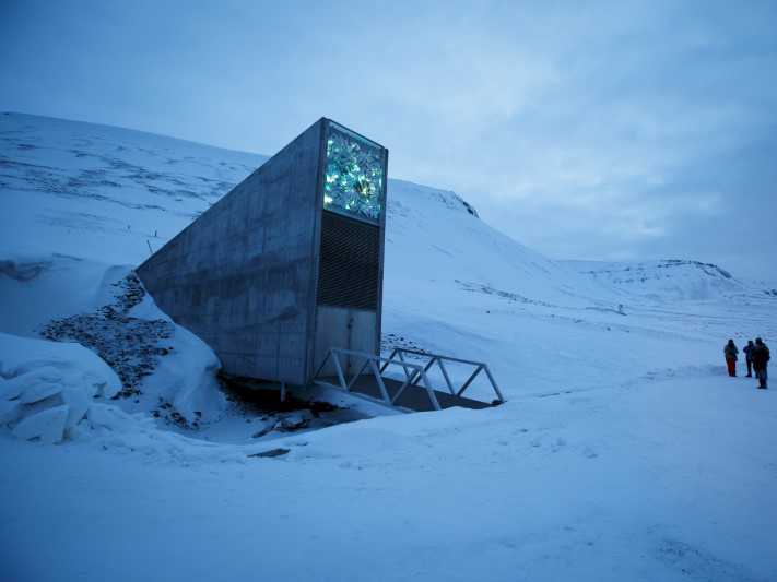The world's 'end ofthe world seed vault' is developed to keep every crop on earth, however the icy location that secures it is at threat