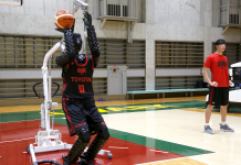 This basketball-shooting robotic is more precise than Steph Curry from 3-point variety