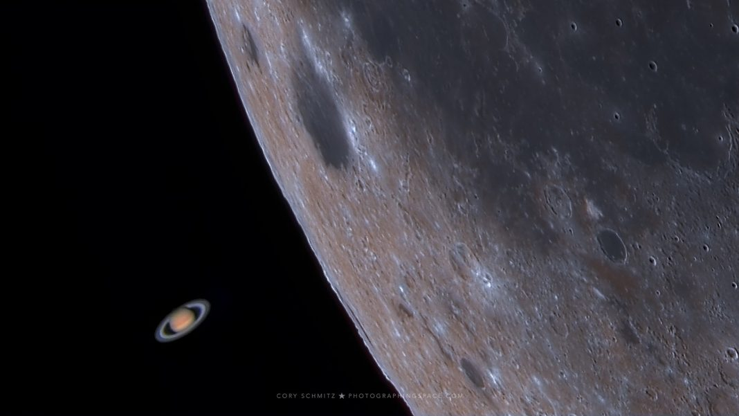 See the Moon Photobomb Saturn in a Remarkable Capture