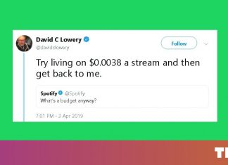 Spotify advertisement draws criticism over how it (under) pays artists