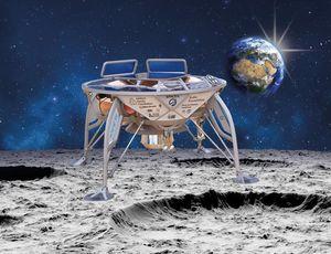 Israeli moon objective makes orbit ahead of Sea of Peacefulness landing