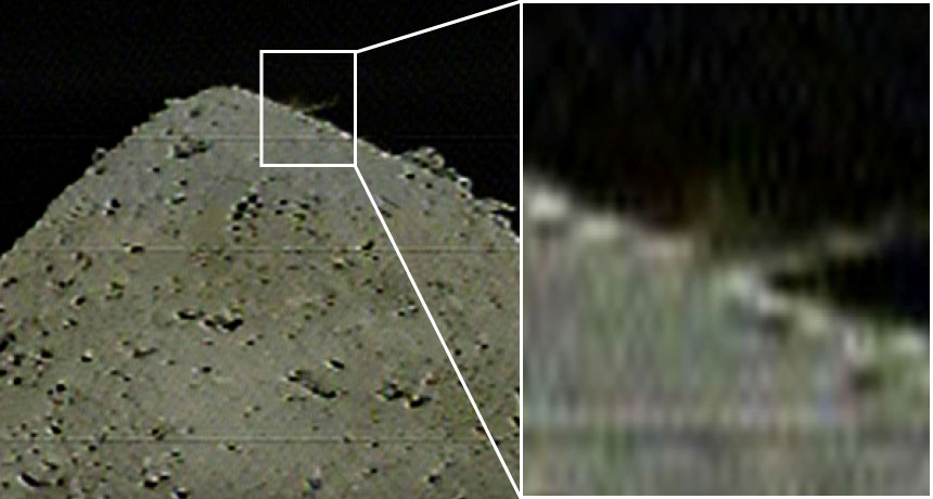 Hayabusa2 has actually blasted the surface area of asteroid Ryugu to make a crater