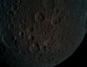 See the far facet of the moon by Israeli spacecraft's eyes