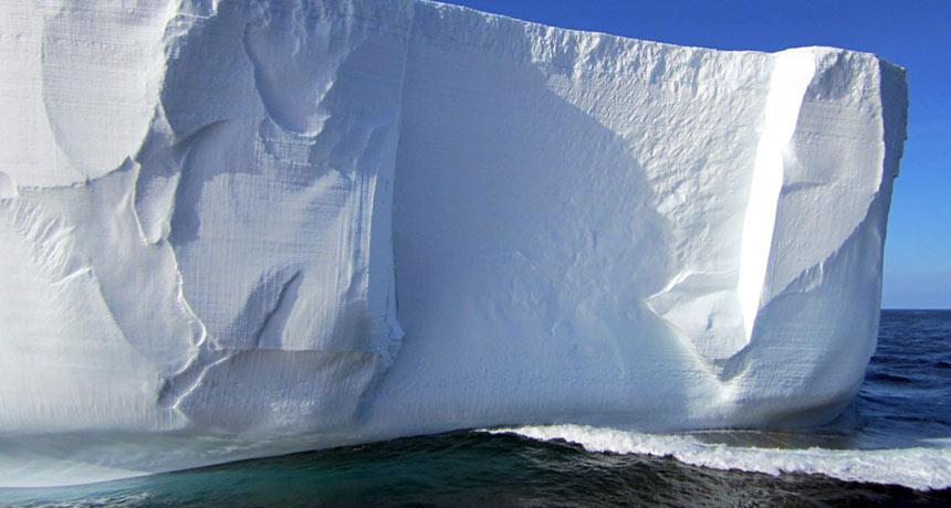 Antarctica's iceberg graveyard might expose the ice sheet's future