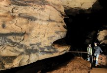 Cherokee Composed Backwards Messages in Cavern to Speak With the Spirit World