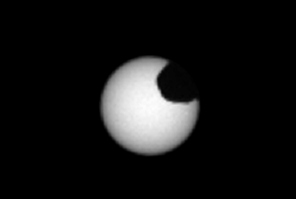 2 Solar Eclipses Seen From the Surface Area of Mars by Interest