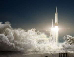 View SpaceX's substantial Falcon Heavy take off for very first industrial launch