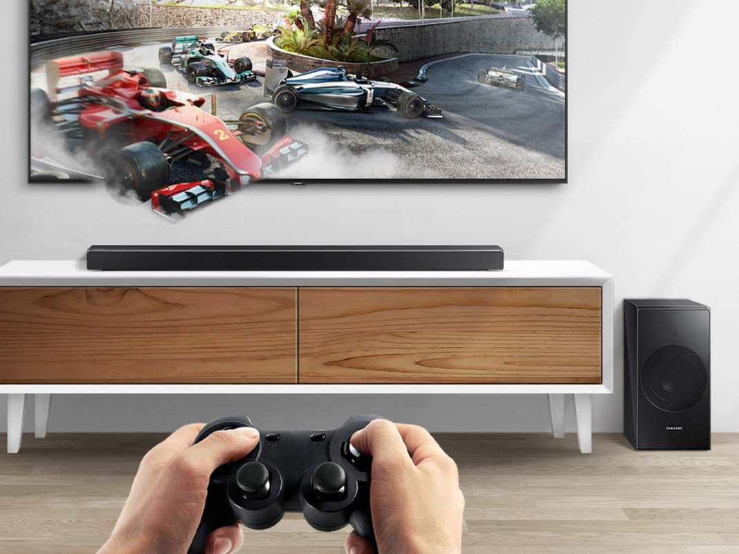 Massdrop is marking down a Samsung soundbar– you can get it for less than $300 for a restricted time