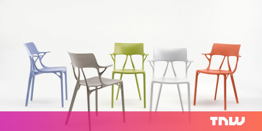 AI turns down conservative human views on furnishings, creates goofy chair