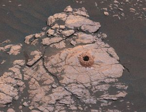 See how NASA Interest rover rocked Mars landscape with significant drilling