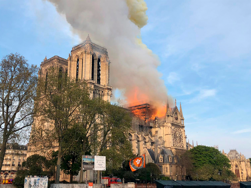 Why Notre-Dame Cathedral, a middle ages stone church, has actually burned so rapidly