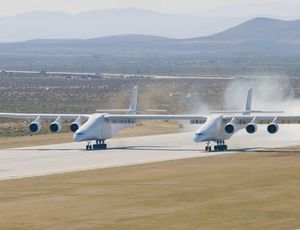 View the Stratolaunch take its very first flight! video