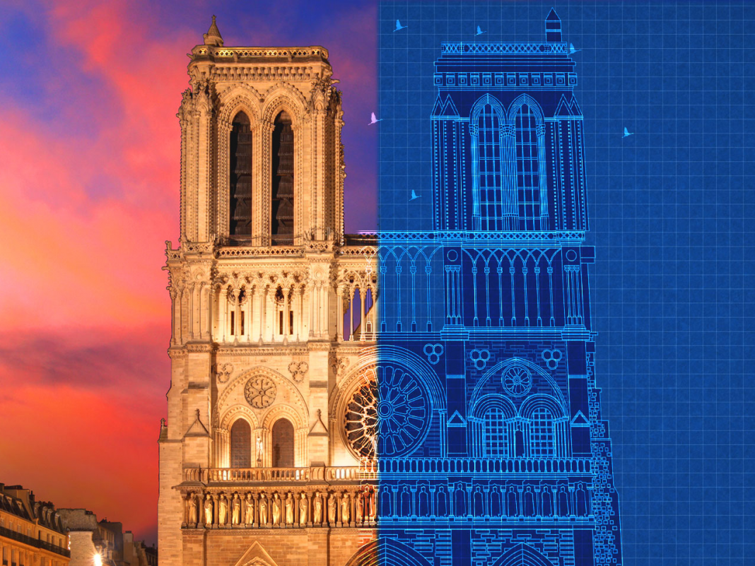 A fire professional discusses why historical structures like Notre-Dame Cathedral burn so quickly