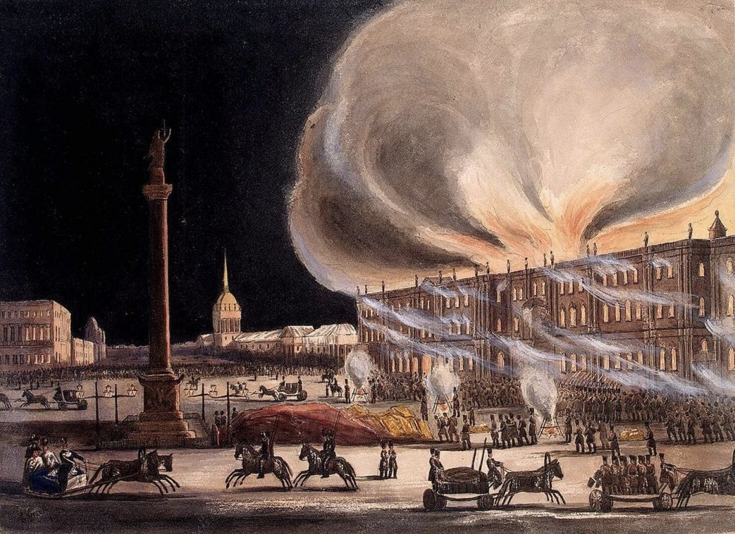 In Notre Dame Fire, Echoes of the 1837 Blaze That Damaged Russia's Winter season Palace