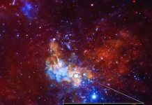 There's a Tiny, Bright Magnetar Photobombing Our Galaxy's Supermassive Great void